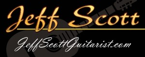 www.JeffScottGuitarist.com Jeff Scott LOGO 2 with guitar photos photo image Orlando Classical guitarist