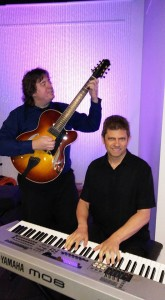 Guitar Piano Jazz duo group corporate dinner event www.JeffScottGuitarist.com/jazzgroup