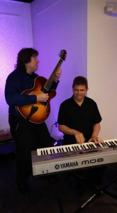 Guitar Piano Jazz duo group corporate party wedding reception www.JeffScottGuitarist.com/jazzgroup