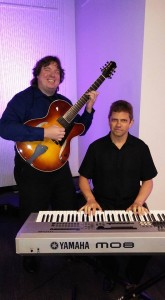 Guitar Piano Jazz duo group corporate dinner event 2 www.JeffScottGuitarist.com/jazzgroup