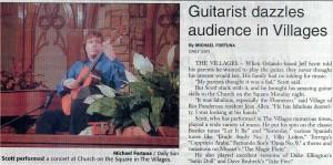 Jeff Scott Villages concert review