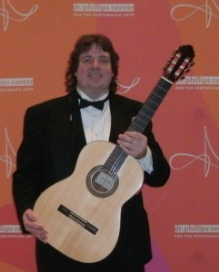www.JeffScottGuitarist.com Jeff Scott Orlando Classical Guitarist guitar player photo image picture